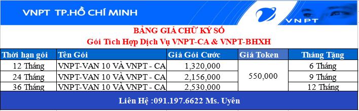 Chữ Ký Số VNPT Huyện Bình Chánh